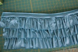 Membuat Layerd Skirt