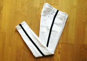 DIY Side Stripe Pants