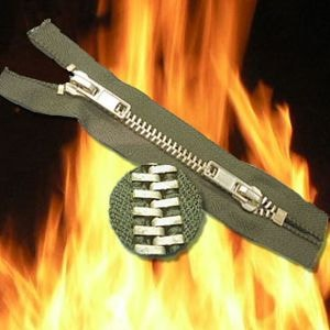 Fireproof Zipper