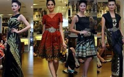 Rancangan Batik dalam Pagelaran Fashion Royal Wisdom