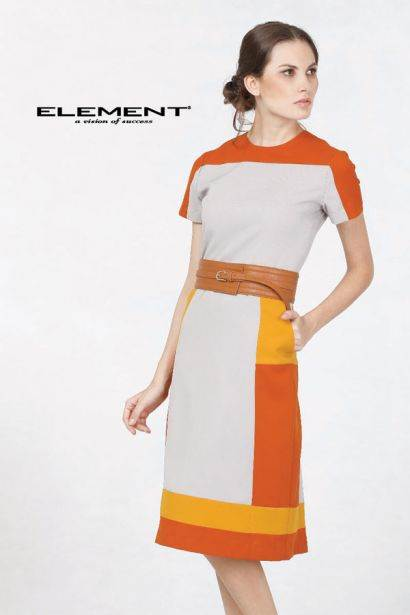 Kain Seragam Element Polyester